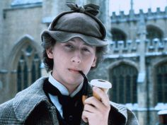 """Nicholas Rowe - Sherlock Holmes on screen - Pictures - CBS News """"Young Sherlock Holmes"""".  I liked this movie"""