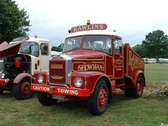 Scammell Highwayman by classic vehicles, via Flickr Trucks Only, New Trucks, Classic Trucks, Classic Cars, Strange Cars, Old Commercials, Heavy Duty Trucks, Fun Fair, Old Tractors