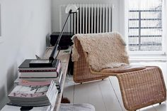 I desperately want to learn to weave and cane a chair like this.