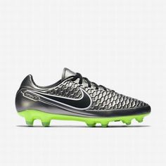 outlet store 70094 59f34  103.34 green nike football cleats,Nike Mens Metallic Pewter Ghost  Green Green Glow Black Magista Orden FG Firm-Ground Football Boot