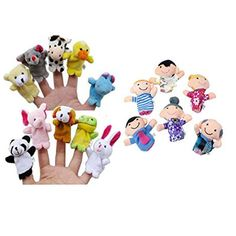 16PC Story Finger Puppets 10 Animals 6 People Family Members Educational Toy. Character Family. or negative. We maintain high standards of excellence. Accessories come with a 3-month warranty. OR, you may choose to have a replacement. | eBay!
