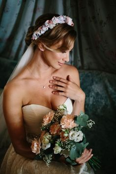 We Are Flowergirls- Flowercrown- Weddingcrown_ Headpiece-Accessoire-Handmade-Hairaccessoire- Headband Flower Band, Flower Crown, Beautiful Bride, Bridal, Headpiece, Flowers, Wedding, Handmade, Fashion