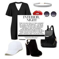 """""""Untitled #101"""" by nadhyaa-meysha on Polyvore featuring Boohoo, Humble Chic, Report, Nevermind, Alice + Olivia and Sole Society"""