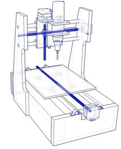 The DIY Desktop CNC Machine - automated fabrication in your home. Your personal cutting/engraving/etching/milling machine in kit form.