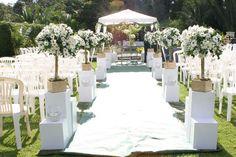 Viva ComFest Cerimonial: Casamento de dia: um charme!! Table Decorations, Home Decor, Tropical Weddings, Brunch, Wedding Ideas, Blog, Wedding Groom, Wedding Boutonniere, Engagement