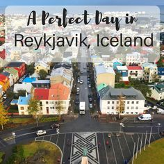 If you'll be in Reykjavik for one day then here is an itinerary for a perfect day in Reykjavik Iceland. It's an amazing city and perfect to start your trip! Reykjavik Iceland, Iceland Travel, Iceland In May, Travel Inspiration, Travel Ideas, Travel Tips, Travel Destinations, San Francisco Travel, Future Travel