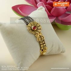 Gold Jewelry Store Near Me Refferal: 6410142585 Mangalsutra Bracelet, Gold Mangalsutra, Mangalsutra Design, Gold Rings Jewelry, Jewelry Bracelets, Diamond Jewellery, Simple Jewelry, Gold Bangles Design, Jewelry Patterns