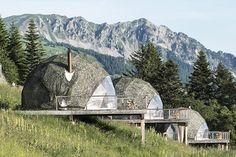 http://www.whitepod.com Swiss Alps Eco-Luxury Hotel & Alpine Experience
