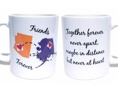 #Bestfriends #giftidea #USA #america #states #coffeemug #mugs #drinks #etsy