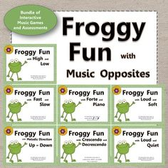 Are you looking for a bundle of engaging music activities to use with your younger students to reinforce high/low, up/down, fast/slow, loud/soft or loud/quiet, forte/piano and crescendo/decrescendo? Fun interactive music game and educational resource! Music Activities, Music Games, Preschool Music, Teaching Music, Music Mix, Elementary Music Lessons, Music Lesson Plans, Fast And Slow, Music Education