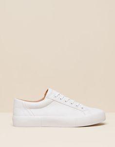 Pull Bear - mujer - zapatos mujer - bamba studio - blanco - 15720011-I2015  Zapatos    a9162eeb3be4b