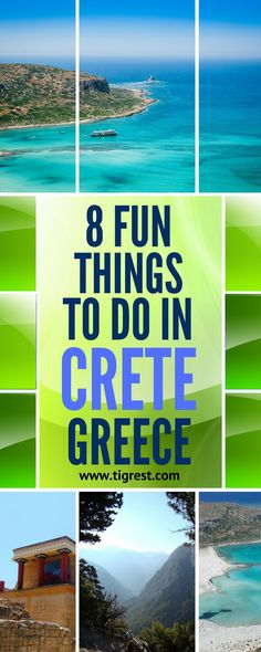 Greece is such a lovely country, you run a risk to fall in love with it forever! This amazing, rich in history island is a fantastic combination of food, culture and scenic beaches. It's perfect for everyone - families with kids, young party seekers, hikers and senior folks. Here is our top 8 Fun Things to do in Crete!