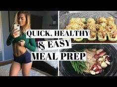 1 Hour Meal Prep | Quick, Easy Recipes - YouTube