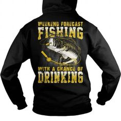 Weekend Forecast with a chance of drinking T-Shirts & Hoodies