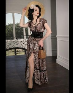Follies What's New Pussycat Maxi Dress What's New Pussycat, Animal Print Maxi Dresses, Hot Clothes, Hot Outfits, Whats New, Summer Days, Frocks, Lace Trim, Kitten