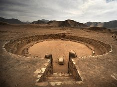 Caral - Located in the Supe Valley in Peru, it was as inhabited between roughly 2600 BC and 2000 BC. © Christopher Kleihege
