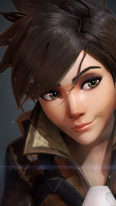 Tracer Overwatch by Breadblack on DeviantArt Overwatch Tracer, Tracer Art, Overwatch Memes, Overwatch Drawings, Uhd Wallpaper, Game Wallpaper Iphone, Playstation, Ps4, Videogames