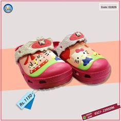 Now Keep your kid's feet light & comfy. Get your kid's favorite cartoon characters crocs and don't miss a chance to show off the style to the world with Kids Care's hottest selling range of Crocs Free Delivery on orders over Rs.1500/- otherwise Rs.150/- Delivery Charges Cash on Delivery Available Inbox your order or Call/SMS/WhatsApp 03212395096 #KidsCare #Trendy #ShopOnline #Crocs #Comfy #Kids #style #Frozen #Minions #HelloKitty #Pokemon #Sofia #Pony #BigHero #SpiderMan #BabyandMother…
