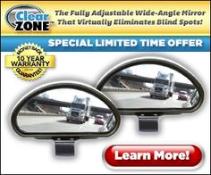 """Clear Zone instantaneously eliminates a variety of blind spots, that makes backing up as well as car parking in tight spots a breeze."""