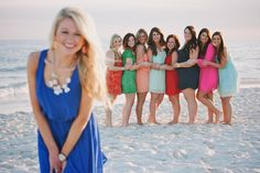 Bachelorette party at the beach in gulf shores bachelorette party ideas bac Classy Bachelorette Party, Bachlorette Party, Bachelorette Weekend, Bachelorette Party Pictures, Gulf Shores Beach, Jacky, Party Photos, Beach Photography, Photo Poses