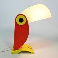 Lampe Toucan par Old Timer Ferrari, Italie, années 60.