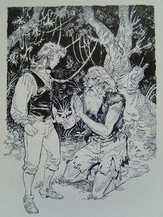 TREASURE ISLAND 4 Comic Art