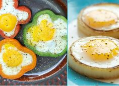 A cool way to make eggs..... 19 Food Hacks That Will Turn You Into A Master Chef - Oola.com