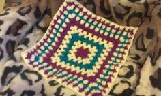 Hugs little blanket  15 x 15