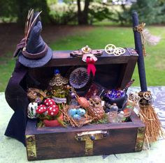 Layaway available Dollhouse Miniature Witch by 19thDayMiniatures