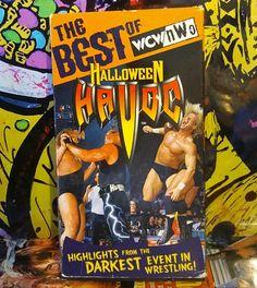 The Best of WCW/nWo  Halloween Havoc VHS  #WWE #WWF #WCW #NWO #sting #machoman #wrestlemania  #wrestling