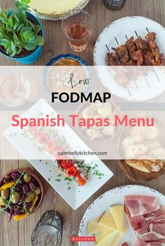 Click through for recipes for Smoked Paprika Chicken Skewers with Romesco Sauce, Lemon-Garlic Shrimp, Marinated Olives, Sourdough Toasts and more!If you're a foodie who loves eating with friends, you don't have to give up the fun or the flavor on the low fodmap diet.This lowFODMAP Spanish Tapas Menu is perfecteven in the elimination and reintroduction phase.