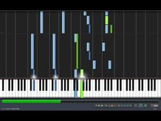 Synthesia requiem for a dream on piano and violin - YouTube