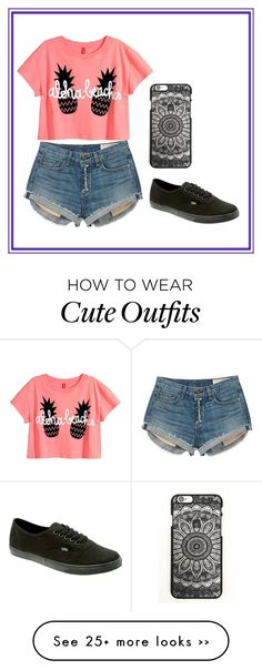 """little cute outfit"" by mila14love on Polyvore featuring rag & bone and Vans"
