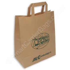 UK's leading retail & wholesale manufacturer of personalised tape handle paper carrier Bags. Luxurious collection of taped handle brown paper carrier bags. Paper Carrier Bags, Paper Bags, Bags Uk, Wholesale Bags, Custom Bags, Brown Paper, Biodegradable Products, Paper Shopping Bag, Handle