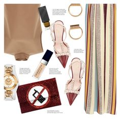 """Fall Outfit"" by stacey-lynne on Polyvore featuring Marni, Burberry, Kate Spade, Anya Hindmarch, Christian Dior and Versace"