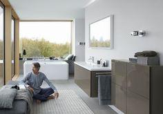 Muebles modernos Duravit para el cuarto de baño