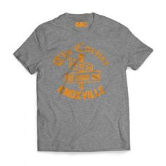 The Corner Knoxville T-shirt is now available for purchase online at www.gboapparel.com #Knoxville #Tennessee #GBO #UTK #Tennessee #VFL #govols #Rockytop #butchjones