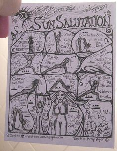 toddlers yoga sun salutations print out the sun color it