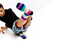 colorful socks Nanushki striped socks colorful stripes men women fashion happy socks