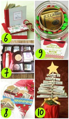 Cute Christmas Cash gift ideas