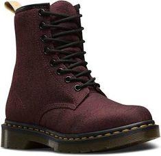 eab32738d55 Dr. Martens Cherry Red Iconic Vegan Castel Boots