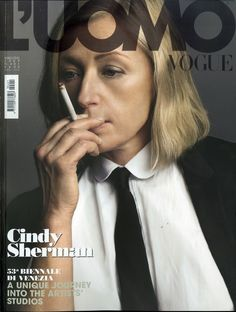 Cindy Sherman L'uomo Vogue - Romy Soleimani Make up and Beauty