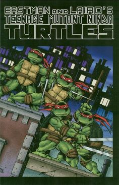 TMNT Entity: Compare/Contrast: The Many Colorizations of TMNT #1