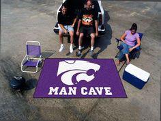 Kansas State Man Cave UltiMat 5'x8' Rug