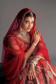 Indian-Pakistani Traditional Wedding Dress~