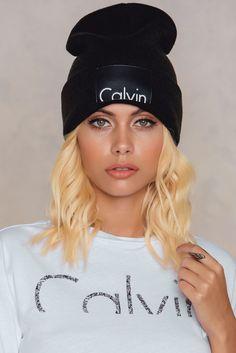 Calvin Beanie Black