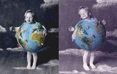 Halloween contest! World globe halloween costume for kids
