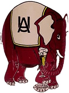 University of Alabama Logo (1952-1958)