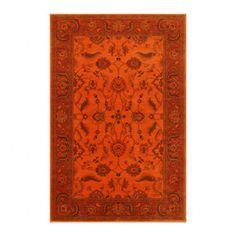 Esperanza Agra Ivory Burnt Orange Rug   Styles   Rugs   HD Buttercup Online  U2013 No