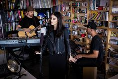 Tiny Desk Concerts often require creative and logistical transformations, from electric bands going acoustic to big bands squashing into a tiny space to many...